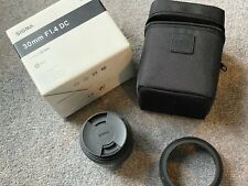 Sigma DC 30mm F/1.4 HSM DC Art Lens For Nikon Mount