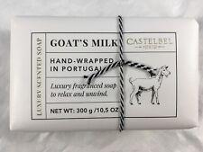 Castelbel Porto, Goat's Milk Soap, Hand-Wrapped in Portugal, 10.5oz, Luxury