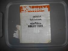 Kawasaki OEM GA1400 GA1000A Portable Generator Workshop Manual