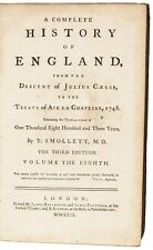 1763-65 The Complete History of England, by Tobias Smollett Full 16 Volume Set