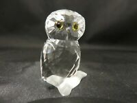 Swarovski Figurine - Small Owl Retired in 2017 MIB
