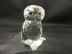 Swarovski Figurine - Small Owl Retired in 2017 MIB