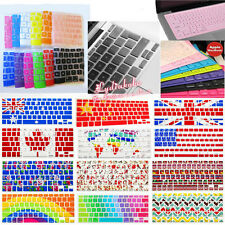 """USA EU/UK Version Keyboard Cover for Apple MacBook 12""""/ Air White Pro 11"""" 13""""15"""""""