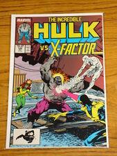 INCREDIBLE HULK #336 VOL1 MARVEL MCFARLANE X-FACTOR OCTOBER 1987