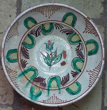 antik Keramik Schale Schlickermalerei Probstei probsteier Keramik Preetz Rarität