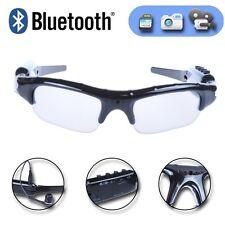 HD 720P Spy Camera MP3 10m Wireless Bluetooth Headset Sport Sunglasses Recorder