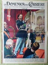La Domenica del Corriere 8 Febbraio 1959 Ugo Tognazzi Giovanni XXIII Fanfani TV