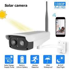 Hiseeu Solar Rechargeable Battery 1080P Home Security WiFi IP Camera Waterproof