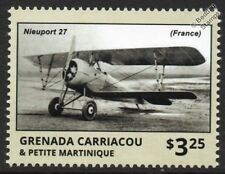 WWI NIEUPORT Model 27 French Biplane Fighter Aircraft Stamp