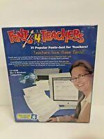 Fonts 4 Teachers Educational Insights CD-Rom Mac & Windows School Home Writing