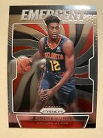 2019-20 Panini Prizm De'Andre Hunter Emergent Rookie Card Insert #9 - * MINT! *