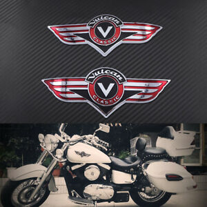 Fuel Gas Tank Badge Emblem Decal Stickers For Kawasaki Vulcan VN Classic VN400