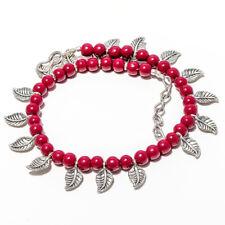 "Onyx Gemstone 925 Sterling Silver Handmade Bracelet Jewelry 7-8"" 6244"
