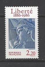 FRANCE # 2014 MNH STATUE OF LIBERTY CENTENNIAL Combo Issue w/United States