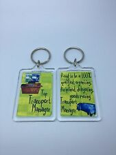 Top Transport Manager Keyring - Xmas Gift Present Idea