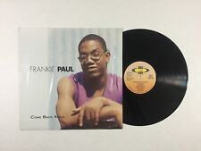 FRANKIE PAUL Come Back Again LP VP VPRL 1445 US 1996 VG+ In Shrink! 12A/I