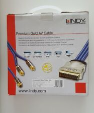 LINDY Premium Gold Brand New 10M (37534) AV Cable (3x RCA M/M) Component Cable