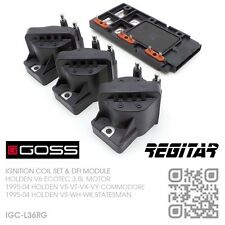 GOSS IGNITION COILS & DFI MODULE V6 ECOTEC 3.8L [HOLDEN VS-VT-VX-VY COMMODORE]