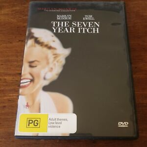 The Seven Year Itch DVD R4 Like New! FREE POST