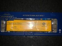 HO Scale Athearn Genesis 50 ft. PC&F Box Car Great Northern Railway #64660