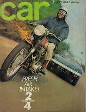 July Cars, 1960s Transportation Magazines