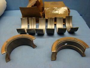 GMC 305 351 401 478 Main Bearing Set 020 Gas D351 D-DH478 Diesel USA made