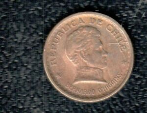 CHILE 20 CENTS 1944