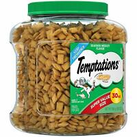 Temptations Cat Treats, Seafood Medley Flavor, 30 Oz. Tub, Makes A Great