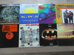 """A COLLECTION OF HOUSE,TRANCE,TEKNO,GARAGE 12"""" SINGLES x 8-2000's VG-EX-2"""