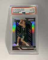 2018-19 Panini Prizm Donte Divincenzo Silver Refractor Rookie RC PSA 10 Bucks