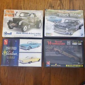 Plastic model car kits lot NEW IN BOX