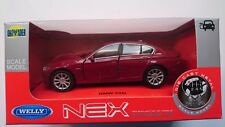 WELLY BMW 535i F10 RED 1:34 DIE CAST METAL MODEL NEW IN BOX