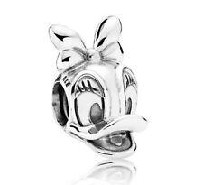 Authentic Pandora Sterling Silver DISNEY Daisy Duck Portrait Charm #792137