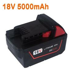 For Milwaukee 5.0AH 18V  M18 M18B4 48-11-1828 Red Lithium Ion XC 5.0 Battery