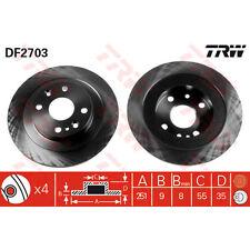 Bremsscheibe, 1 Stück TRW DF2703