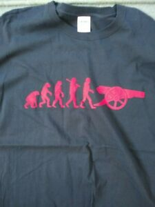 ARSENAL Gunners Evolution T-Shirt Football Tee Fitted Gooners XL BLACK