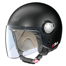 CASCO DEMI-JET GREX G3.1 KINETIC - 2 FLAT BLACK TAGLIA XL