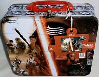 STAR WARS The Force Awakens LUNCH/CARRY-ALL BOX W/  100 PIECE PUZZLE