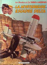 BD ! La mystérieuse escadre delta Tanguy et Laverdure Hachette ! 1983 ! CBD 4