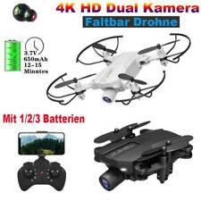 2021 Faltbar Drohne mit 4K HD Dual Kamera FPV WIFi Mini Selfie RC Quadcopter DE