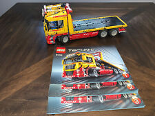 Lego Technic 8109 Flatbed/tow truck with power function - Complete