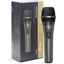 More details for stagg sdmp10 dynamic cardoid dj vocal instrumental handheld microphone
