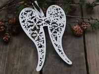 Chic Antique Flügel Engelsflügel Christmas Metall Weihnachten Shabby Vintage