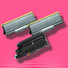 3P TONER+DRUM for Brother TN-360 TN360 TN330 TN-330 DR-360 DR360 MFC-7440N