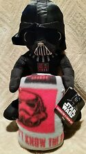 STAR WARS CHARACTER & THROW SET, STUFFED DARTH VADER & BLANKET SET, BRAND NEW!!!