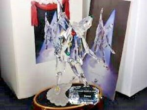 """Swarovski Crystal """"SCS PIERROT Plus STAND & PLAQUE"""" All BOXED"""