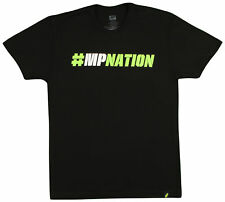 MusclePharm Hashtag T-Shirt (Black/Green)