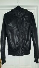 Allsaints mens wetlook jacket metamorphosis size S