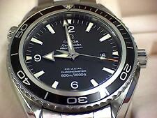 Gents 2008 Omega Seamaster Planet Ocean Co-Axial Watch (363)