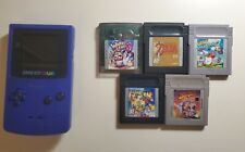 Nintendo Gameboy Color & 5 Games, Great Condition, Games Tested, Zelda, Kirby